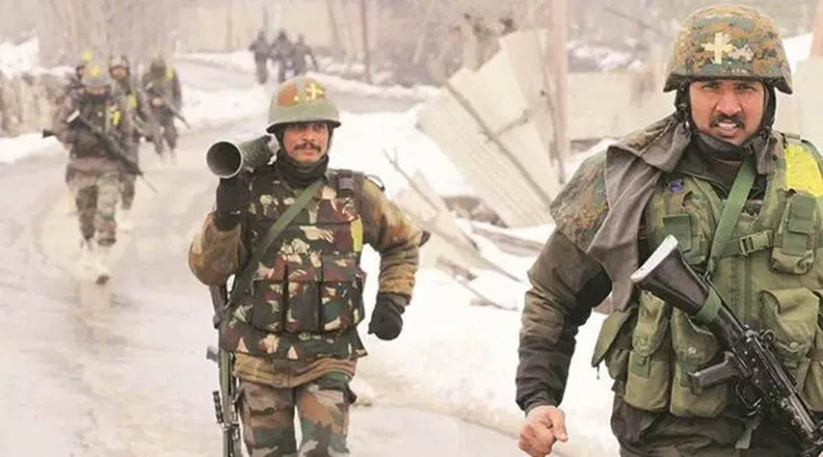 Security forces bust Hizbul Mujahideen hideout in Pulwama forests