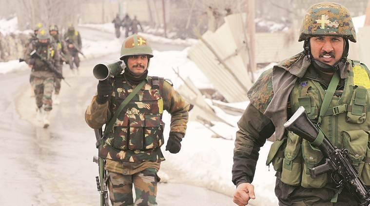 J&K encounter,  jammu and akshmir phulwama encounter, indian express