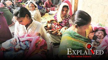 express explained, explained news, kota infant deaths, infant mortality rate, rajasthan infant deaths, infant deaths, unicef, indian express