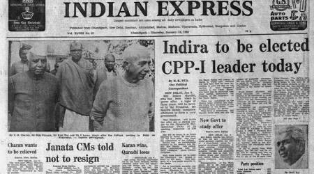 Indira Gandhi, The Indian Express, Indian Express editorial, Indian Express column, Indian Express archive