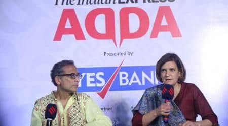 Abhijit Banerjee Esther Duflo, Abhijit Banerjee Express Adda, Esther Duflo Express Adda, Express adda, Nobel Prize Esther Duflo, Indian Express news