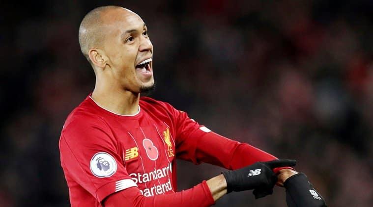 Liverpool's Fabinho, Joel Matip in line for return against Manchester United