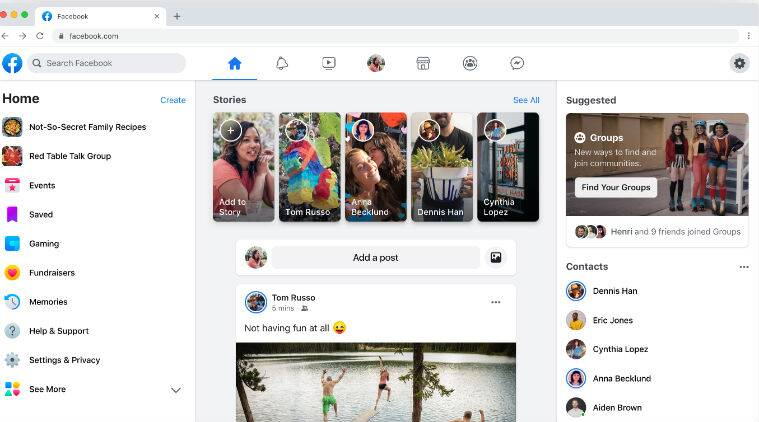 Facebook to roll out redesigned desktop app by Spring 2020