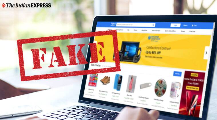 FAke Flipkart website
