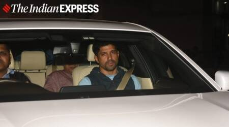Farhan Akhtar, Tabu and others visit Shabana Azmi at Kokilaben Dhirubhai Ambani Hospital