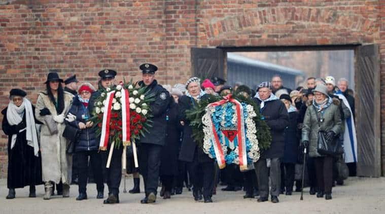 Auschwitz, Auschwitz anniversary, auschwitz concentration camp photos, Auschwitz 75 anniversary, what is Auschwitz, world news, indian express