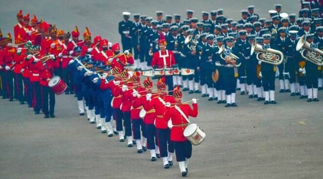 Rehearsals in full swing for Beating Retreat ceremony