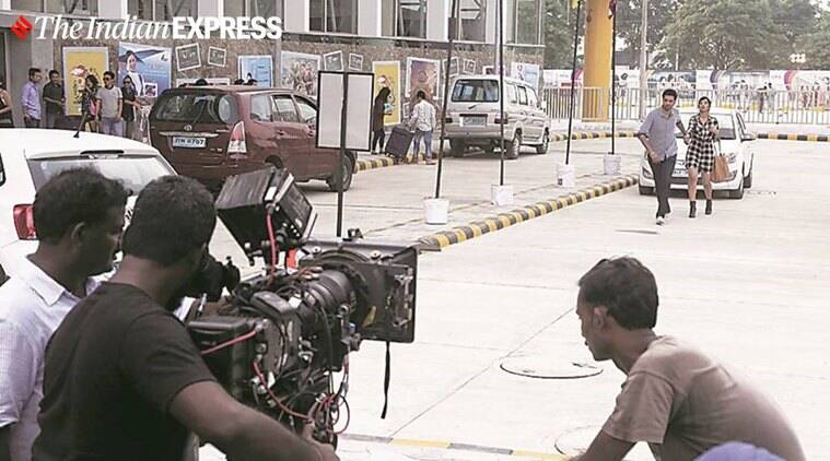 Coronavirus lockdown, film shooting, containment zones, Maharashtra news, Indian express news