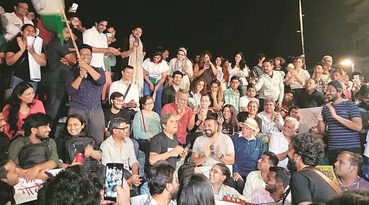 Jnu attack, jnu violence, Film fraternity on JNU violence, bollywood on JNU attack, mumbai news, mumbai city news, maharashtra news, indian express news