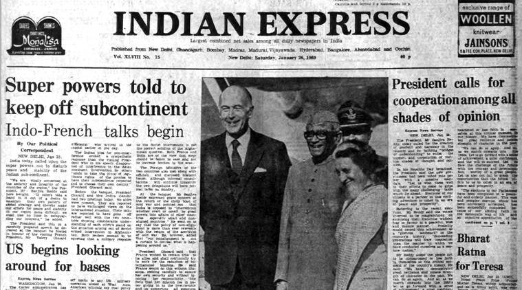 Mother Teresa, bharat ratna, indian subcontinent, Republic Day presidential address, Sanjiva Reddy, indian express