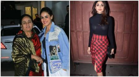 Genelia Deshmukh, Shilpa Shetty and others attend Jawaani Jaaneman screening