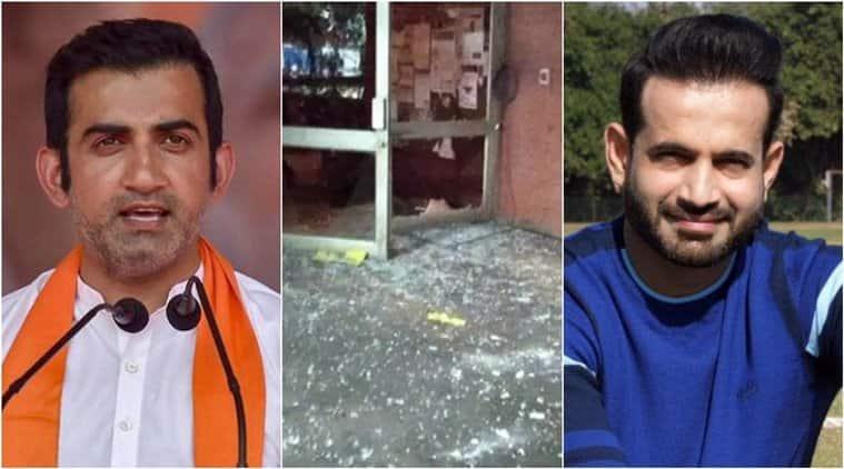 Sportspersons condem jnu attacks gambhir irfan pathan bopanna