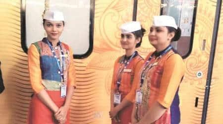 mumbai news, mumbai city news, maharashtra news, tejas express, gadhi cap, indian express news