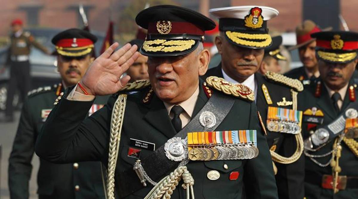 bipin rawat chief of defence staff, department of military affairs, defence ministry, india army, latest news, indian express