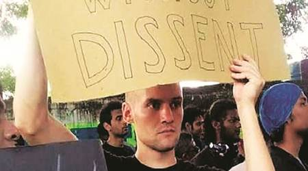 IIT Madras CAA protests, Chennai CAA protests, German exchange student at IIT Madras, German student at CAA protests sent back, German student CAA protest