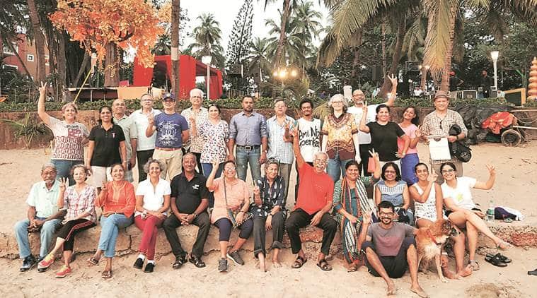 Republic Day, Republic Day Goa, Goa Republic Day, Goa, Dona Paula Vainguinim beach, Goa beach, Goa beaches, privatisation of Goa beach, goa beach, republic day, Indian express