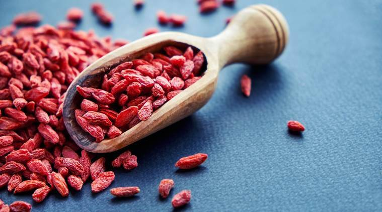 goji berries, health benefits, indian express news