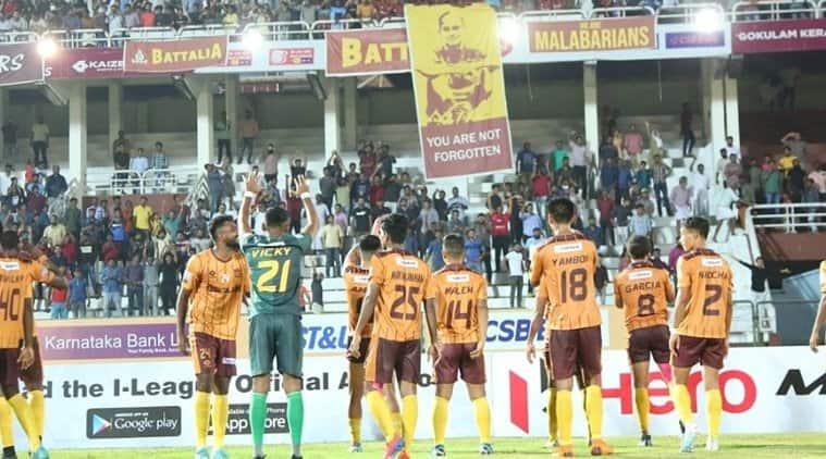 Gokulam kerala churchill brothers i league clash