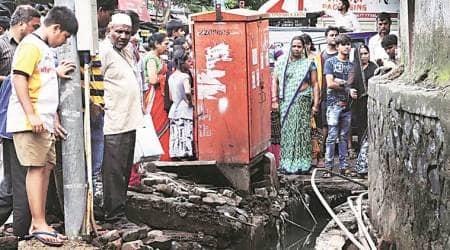 Divyansh Singh death, Divyansh Singh death probe, boy falls inside mumbai gutter, mumbai city news