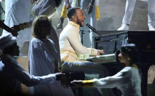 John Legend at grammy awards 2020