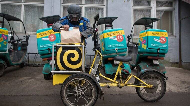 Yandex NV, russia, Moscow, e-commerce, online grocery, grocery in 15 minutes, U.S. Amazon.com Inc, Uber Technologies, grocery delivery, tech, latest techonology news