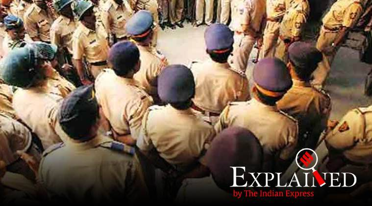 gujarat police, viswas project, gandhinagar news, gujarat news, indian express news