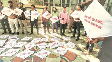 Kite-flying event in protest against CAA: Gujarat Vidyapith students threaten fast against 'police entering campus'