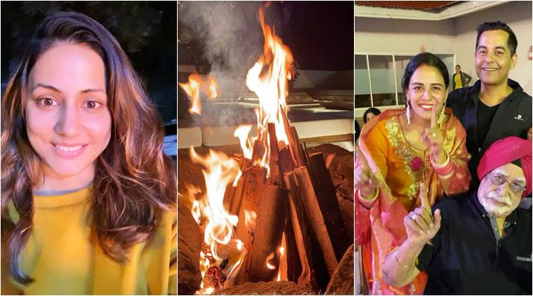 From Hina Khan to Mona Singh, here's how stars celebrated the festival of Lohri