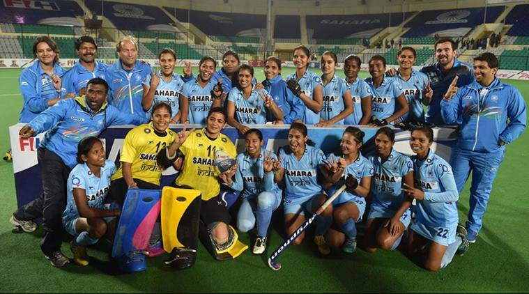 Indian women's hockey team, New Zealand, Olympic Games, hockey, sports, latest news, hockey news, indian express