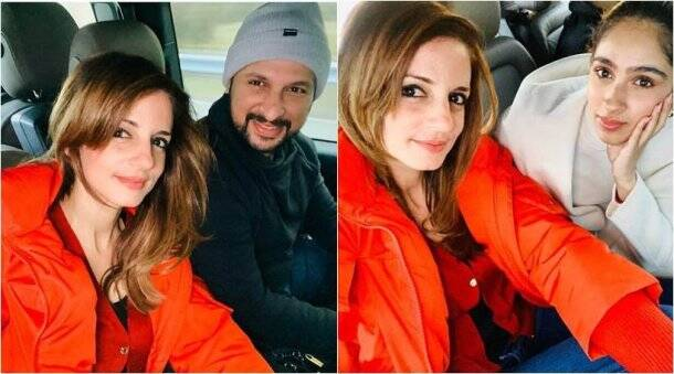sussanne Khan new year