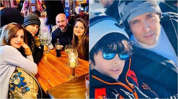 hrithik sussanne new year vacation
