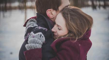 hugs, hugging, health benefits. indian express news