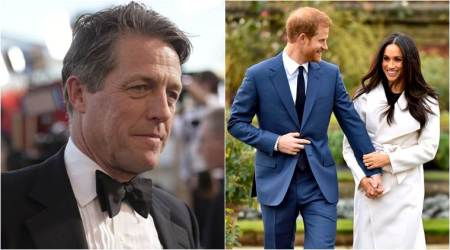 hugh grant on prince harry meghan markle