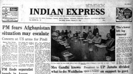 indira gandhi, indira gandhi on afghanistan, cold war, afghanistan war, assam unrest, sunil gavaskar, forty years ago