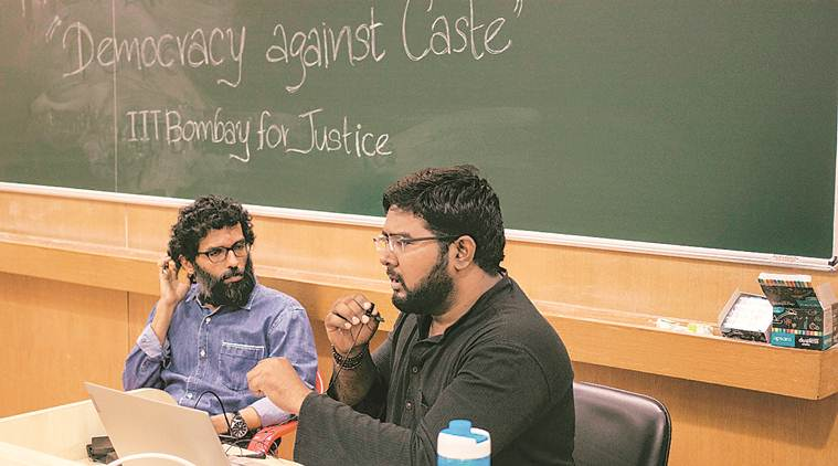 At IIT-Bombay, a talk on 'democracy against caste'