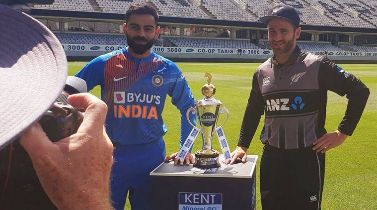 India vs New Zealand, 1st T20I