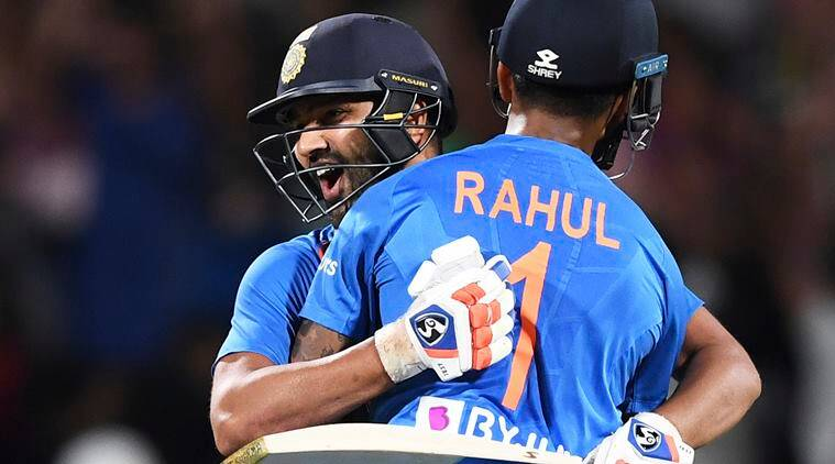 Rohit's last-ball six in Super Over gives India first T20I series win in NZ
