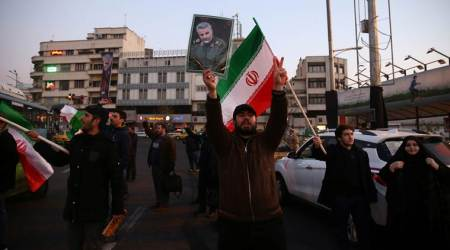 US Iran tensions, Donald Trump, Iran missile attack, Trump address, United States, Qaseem Suleimani, Indian Express