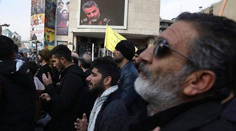 Quds force, Iran attack, Qasem Soleimani, Hezbollah, Esmail Ghaani, KH militia, Indian Express