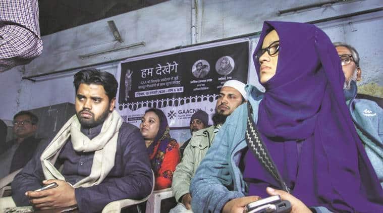 CAA protest, Jamia violence, JNU attack, Jamia student, JNU student ahmedabad news, Indian express news