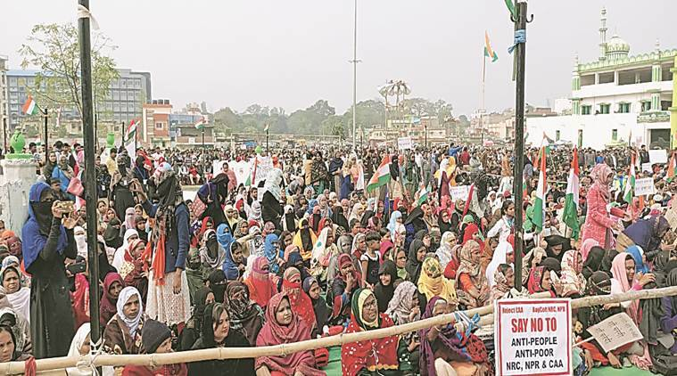 CAA NRC protest in Ranchi, women protest against CAA in Jharkhand, jharkhand caa protests, ranchi protests, jharkhand news