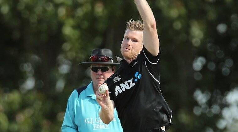 Jimmy Neesham stars in New Zealand A's 29-run second ODI win over India A