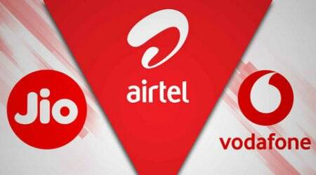 airtel 2gb daily data, vodafone 2gb daily data, jio 2gb daily data, vodafone vs airtel vs jio, airtel vodafone jio prepaid plans with 2gb daily data