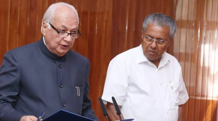 kerala governor, arif mohammed khan, Pinarayi Vijayan, kerala governor on caa, kerala government caa petition, kerala caa protest, citizenship amendment act protest