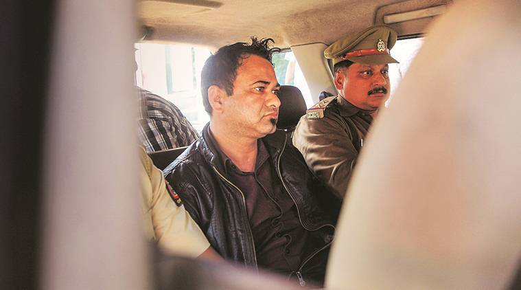 Kafeel Khan arrested Mumbai, CAA NRC protest Kafeel Khan, AMU Kafeel Khan speech, indian express news