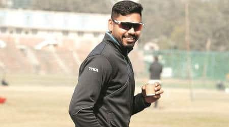 Avesh Khan ranji trophy, ranji trophy, Baroda vs Madhya Pradesh, indian express cricket news, sports, sports news, latest news,