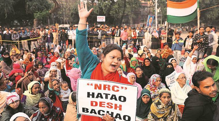 caa protests, anti caa nrc protests, constitution of Inda, bjp, ayodhya, triple talaq, indian express