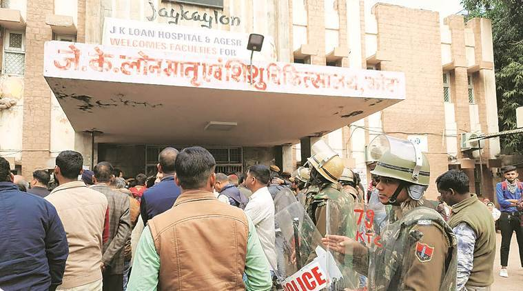 Kota infant deaths: Death toll rises to 107, Central govt team visits J K Lon hospital
