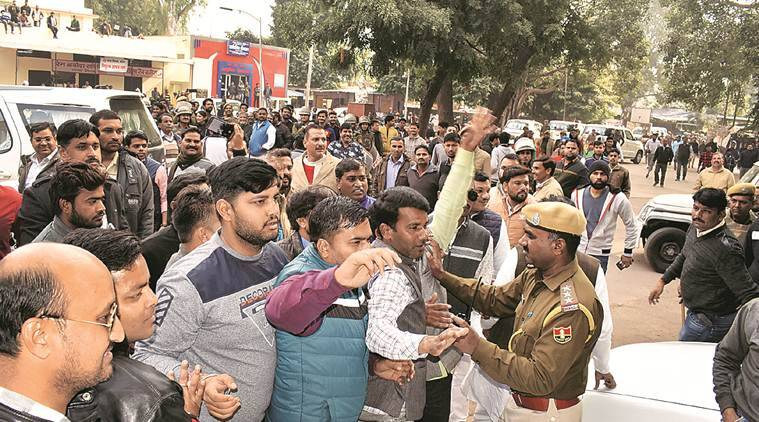 kota deaths, Health Minister Raghu Sharma, over 100 children died, congress blames bjp govt, medical negligence, kota news, indian express news
