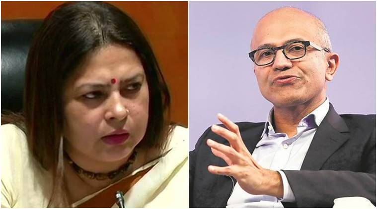 'Literate need to be educated': Meenakshi Lekhi on Satya Nadella's CAA remark